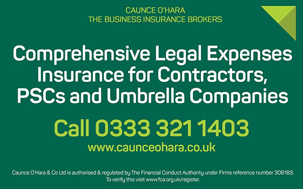 Legal expenses insurance for Umbrellas and PSCs