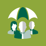 umbrella payroll insurance product icons employers liability